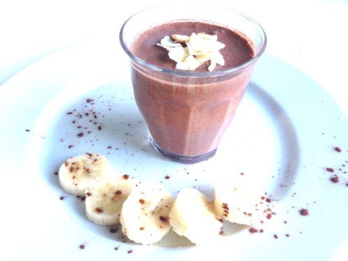 Chocoladepudding met chiazaad