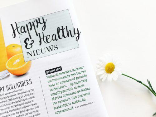 Happy&Healthy nieuws