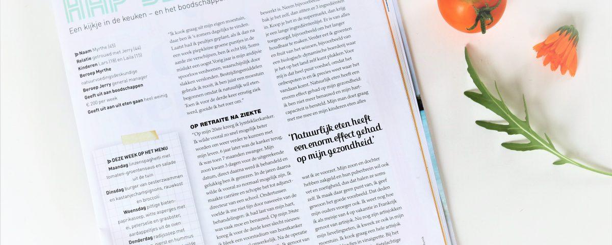 Interview Flair rubriek hap-slik-zeg