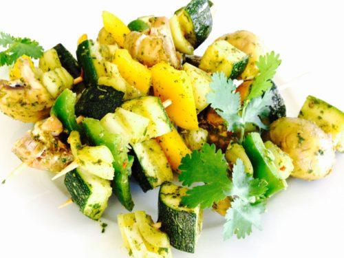 Marokaanse groentespiesjes