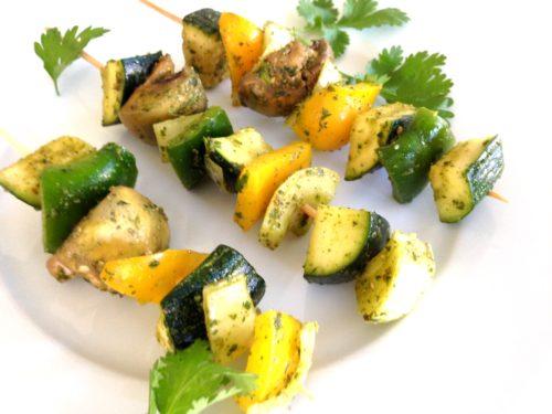 Marokkaanse groentespiesjes