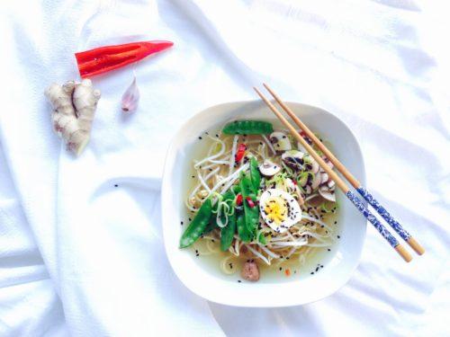 'Ramen', Japanse noodlesoep