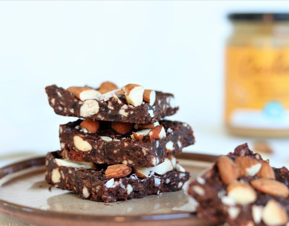 Chocolade-noten squars