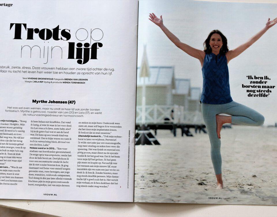 interview VROUW magazine