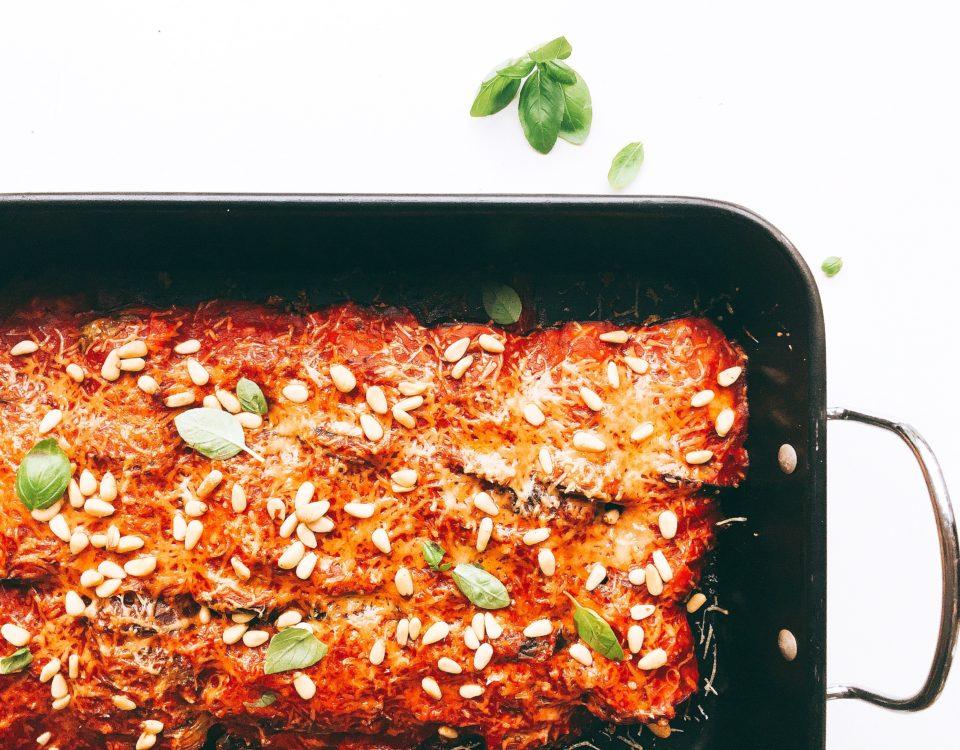 aubergine klaar