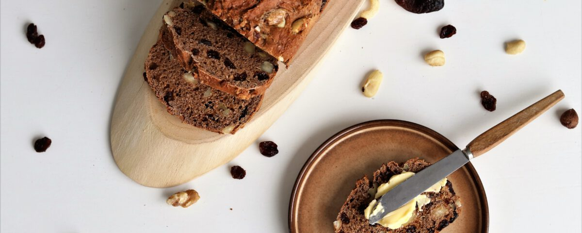 Eiwitrijk vruchten-notenbrood