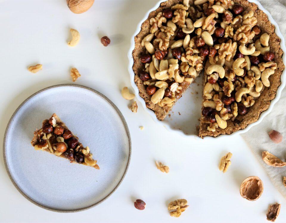 herfstige notentaart (glutenvrij)