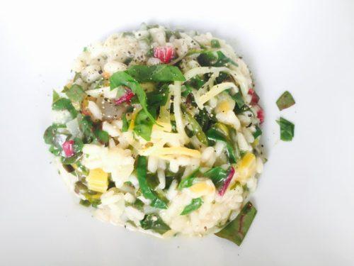 risotto met snijbiet