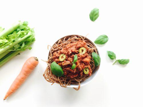 spaghetti bolognese vegan 3