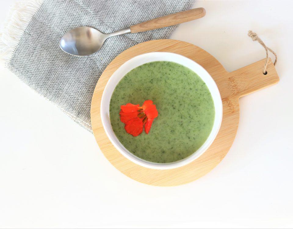 Simpele waterkerssoep (vegan)